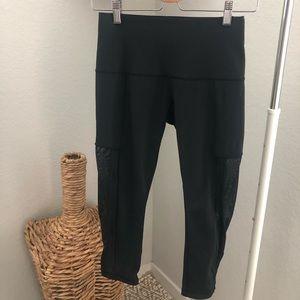 LULULEMON Athletica Leggings Crop Black Size 6